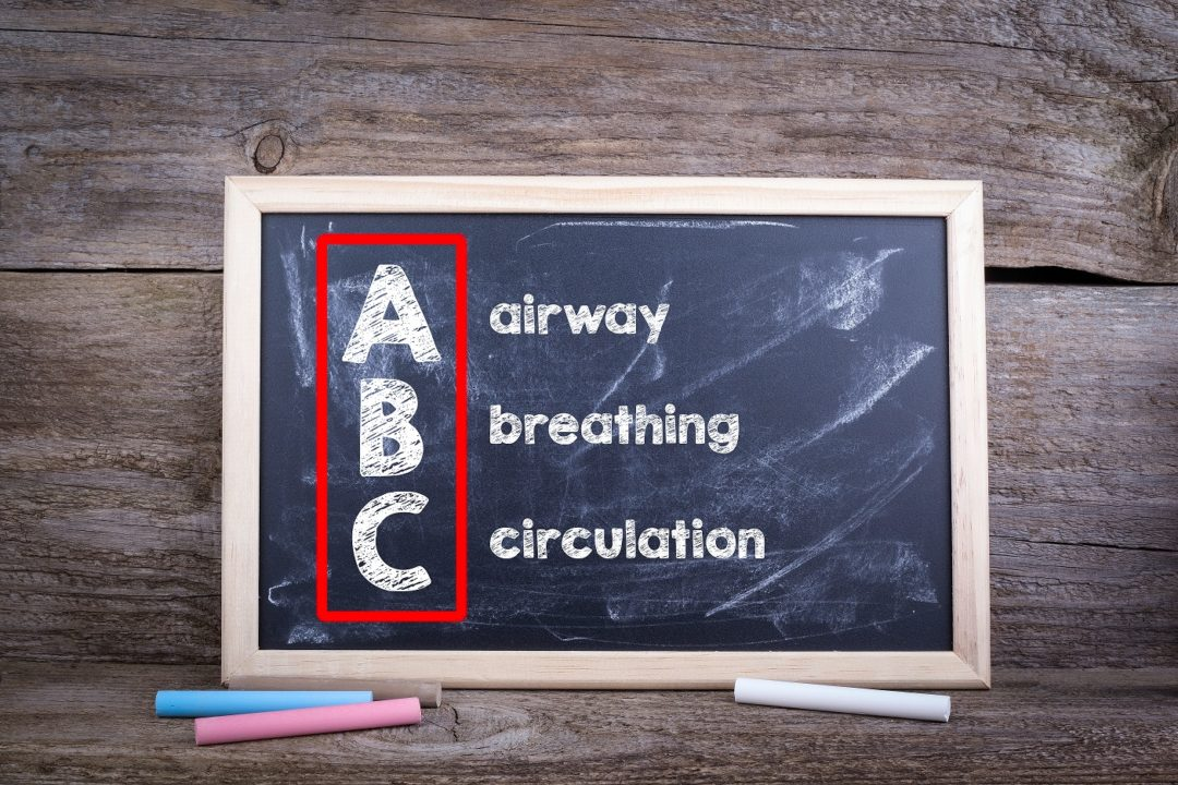 First aid training - Airway, breathing, circulation
