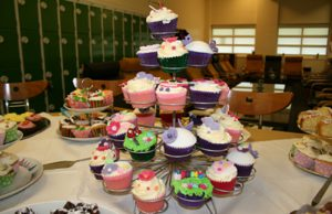 Cupcakes for the coffee morning
