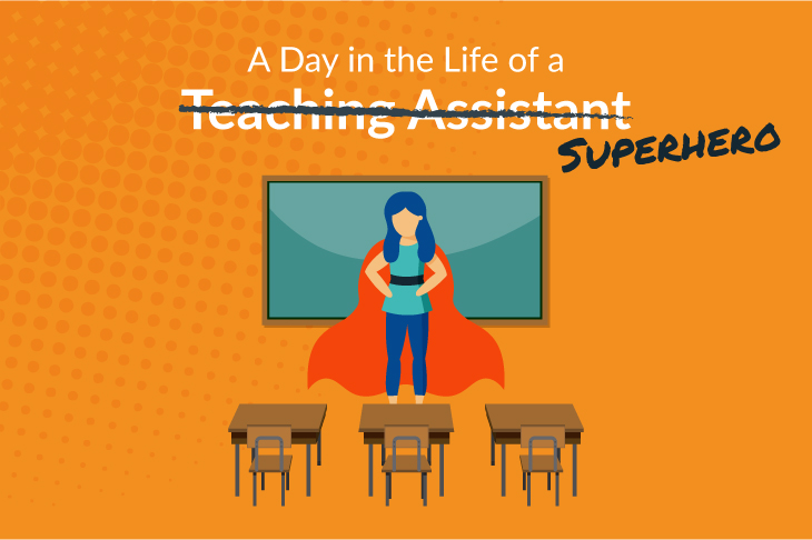 Day in the life of a Teaching Assistant