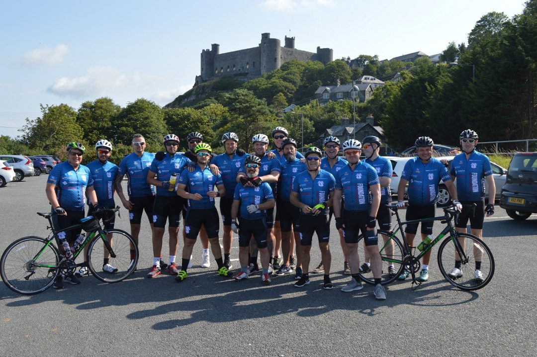 Men of Harlech riders 2019