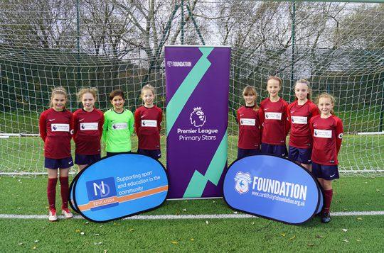 Girls score high in under 11's football tournament