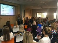 NQTs attending information session with New Directions