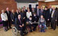 First Minister Carwyn Jones opens the new Ysgol Bryn Castell and Bridge Alternative Provision campus