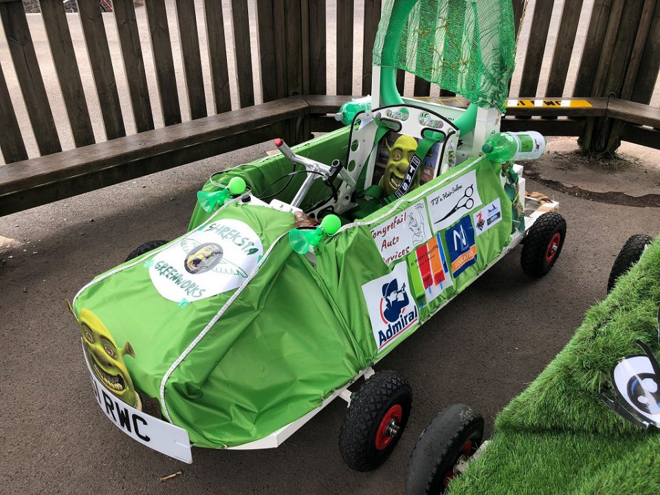 Cwmlai Primary School Greenpower electric car project