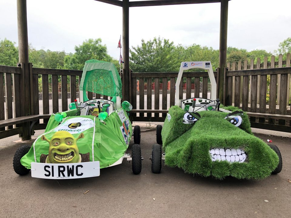Cwmlai Primary School Greenpower car project