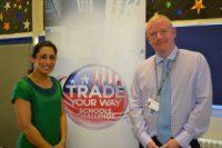 Saira Khan visits Manchester school