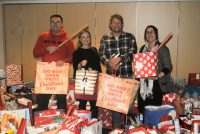 Andrew Harris and New Directions Pharmacy gather gifts for Mr X appeal