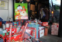 Presents donated by New Directions for Mr X Appeal