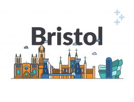 Bristol social care city skyline