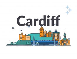 Cardiff Social Care city skyline