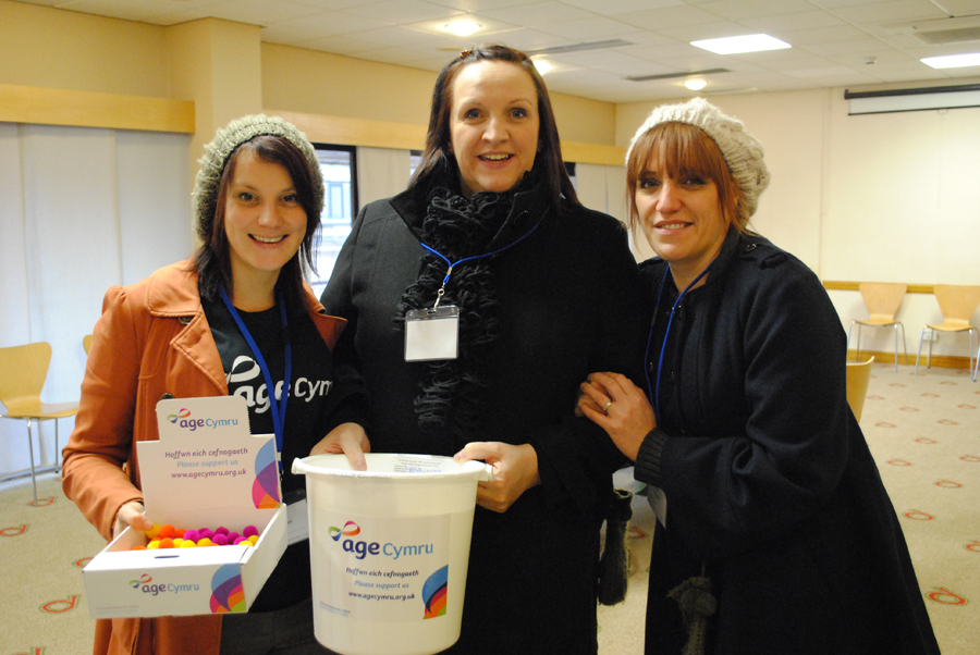 Kirsty, Emma and Ruth sign up to help out