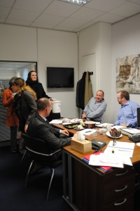 Raiding the senior leadership team meeting for donations