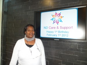 Amanda Barnes, ND Care and Support worker