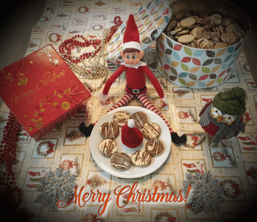 Christmas cookie bake off
