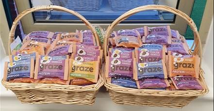 Wellness week Graze snacks